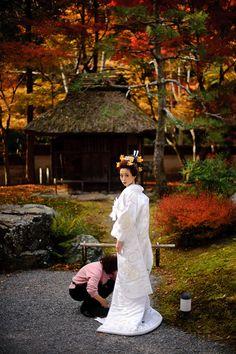 Wedding kimono...so beautiful, and different
