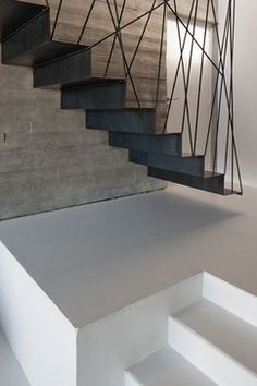 La Maison Noire - contemporary - Staircase - Other Metro - AR-QUO