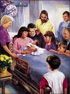 Nathan Greene - The Miracle Of Birth Canvas Giclee Jesus Christ Images, Jesus Art, God Jesus, Baby Jesus, Christian Images, Christian Art, Religion Catolica, Prophetic Art, Jesus Pictures