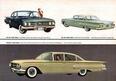 Todos os tamanhos | 1960 Chevrolet Bel Air and Biscayne 2 and 4 Door Sedans…
