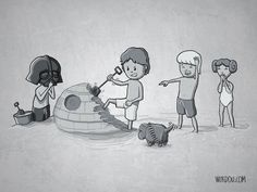 Cute Character Art From Star Wars, LOTR, Game Of Thrones | The Mary Sue