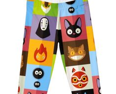 These Leggings Are Covered In Studio Ghibli's Greatest Hits