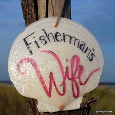 Check out this item in my Etsy shop https://www.etsy.com/listing/462616432/fishermans-wife-scallop-shell-ornament