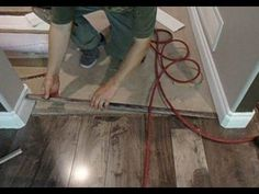 This video is about how to install laminate floor transition to carpet. When I start working on this project, a carpet was already installed. I had to add ne. Types Of Carpet, Carpet Styles, Floor Transition Strip, Installing Laminate Flooring, Carpet Flooring, First Home, Color Inspiration, Tile Floor, Youtube