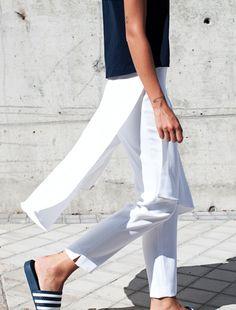 white pants  #minimal #style