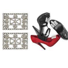 Classic Diamond Square Shoe Clips http://www.secretfashionfixes.ie/p ·  SchuhclipsPlätzeKlassischDiamond