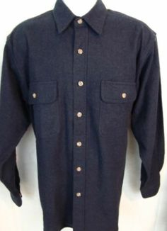 FIELD AND STREAM FLANNEL Mens Shirt JACKET Outdoor M Med NWOT Blue L/S Hunting $19.99