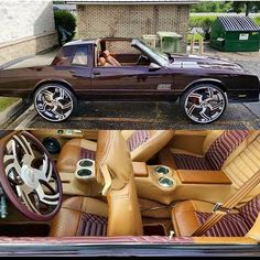 No photo description available. Custom Muscle Cars, Chevy Muscle Cars, Custom Trucks, Custom Cars, Donk Cars, Trick Riding, Custom Car Interior, Chevrolet Monte Carlo, Old School Cars