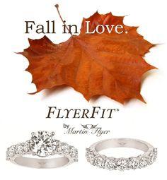 Exclusively at #Capri #Jewelers #Arizona ~ www.caprijewelersaz.com  ♥ Fall in love with FlyerFit by Martin Flyer.