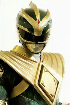 New Green Ranger uniform...