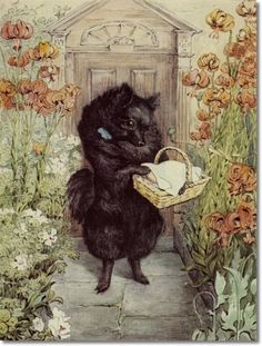 From Beatrix Potter's The Pie and The Patty Pan