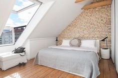 Velux window - perfect compromise if you can't afford a dormer.