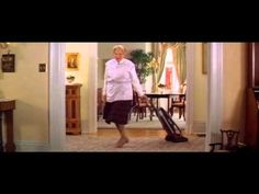 One of my favorite scenes from the late great Robin  Williams ... Mrs. Doubtfire Cleaning Scene