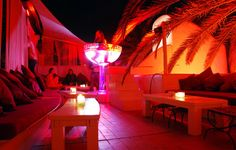 The terrace at Pacha