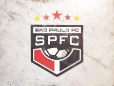 São Paulo Futebol Clube by Brandon Williams, via Behance