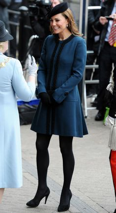 Kate middleton wardrobe  | Kate Middleton Wears A By Malene Birger Coat To Visit Baker Street ...