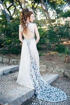 Margaery wedding dress - Game of Thrones #GameofThrones #GoT #Fashion