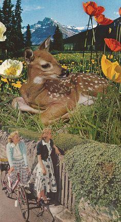 saraheisart surrealist magazine collage?