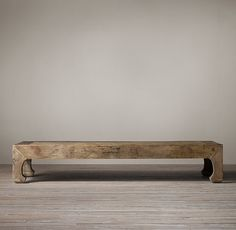17th C. Ming Dynasty Coffee Table - Restoration Hardware