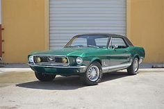 Ford : Mustang J Code Coupe