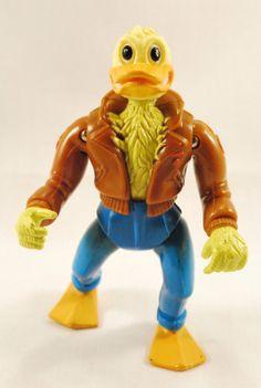ACE DUCK Teenage Mutant Ninja Turtles Action Figure TMNT 1989