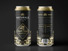 Naturale Brewing Co. Can Design by Nathan Riley