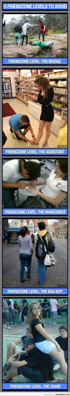 5 Levels Of Friendzone To Avoid. A moment for our brothers in the friendzone