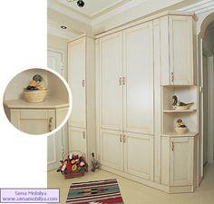 vestiyer 1 Decor, Furniture, House Design, Mudroom, Home, Home Reno, Tall Cabinet Storage, Cupboard Design, Interior Design