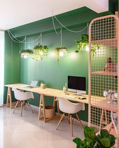 home office design Home Office Space, Home Office Decor, Office Interior Design, Office Interiors, Coworking Space, Home Remodeling, Sweet Home, Room Decor, House Design