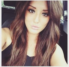Charlotte off Geordie Shore has amazing chestnut brown hair