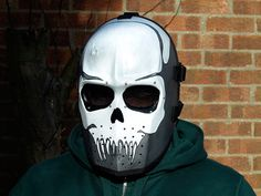 Army of Two v1 Skull Airsoft Costume DJ Cosplay by HiddenAssassins, £59.00
