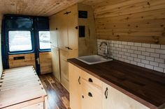 These images are the finished product of the Sprinter van buildout that I  have embarked on for the past several months.