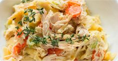 Here's Chicken Noodle Soup Reimagined as a Casserole