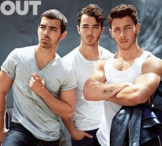 "JONAS ""HOT-NAS"" BROTHERS those biceps!"