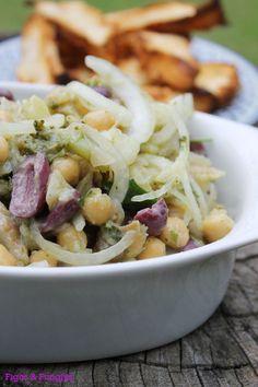 Salada de Bacalhau com Grão-de-bico | Blog Figos & Funghis