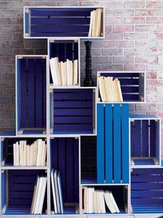 мебель из ящиков и картона