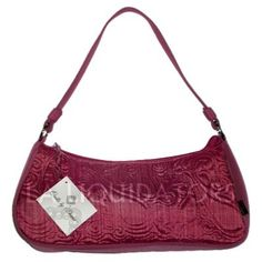Donna Sharp Raspberry Ice Josie Bag Quilted Handbag Purse by Quilts by Donna