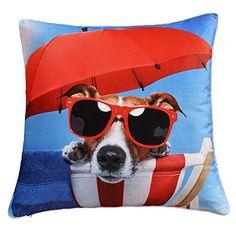 nioBomo Square Cushion Cover Throw Pillow Sham Pillow Cas…