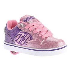Children's Heelys Motion Plus Roller Shoe /Pink/Glitter