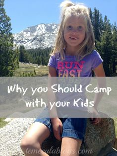 The best family vacations are when you are camping. Let me tell you why you should camp with your kids and how it's strengthened our family.