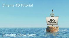 Cinema 4D Tutorial - bow wave