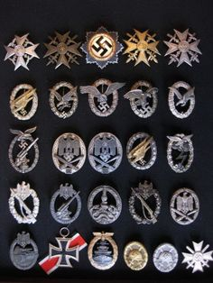 Badges of the 3rd reich