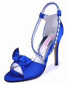 Eleganta bröllop skor * skor diamant rosett skor söta baby blue skor A0732 Skor, Change The World, Wedding Dresses, Heels, Beautiful, Fashion, Bride Dresses, Heel, Moda