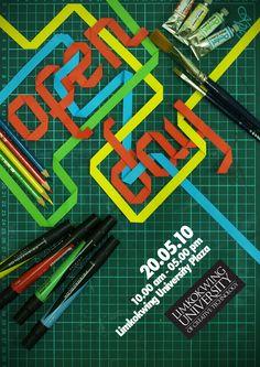 Open Day Poster by Darryl Driyarto Han