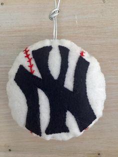 baseball ornament by Ifeltsomethinglovely on Etsy