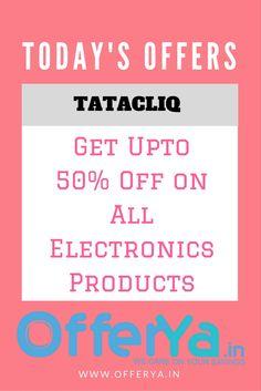 Tatacliq Republic day offers : Get Upto 50% Off on Electronics