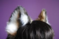 brown wolf ears by woodlandcreatureshop on Etsy, $40.00