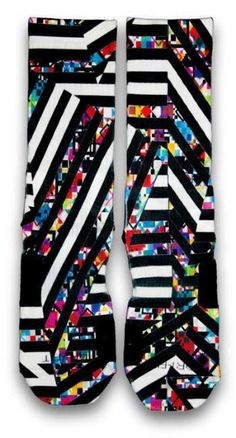 Bengal Stripes Custom Elite Socks