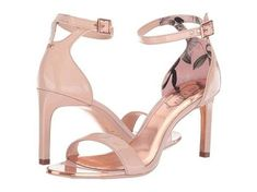 Get the must-have pumps of this season! These Ted Baker Nude Womens Ulanii Ankle Strap Heels Eur 39 Pumps Size US Regular (M, B) are a top 10 member favorite on Tradesy. Ankle Strap Heels, Ankle Straps, Leather Heels, Patent Leather, Ted Baker, Stiletto Heels, Nude, Pumps, Women's Shoes