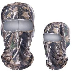 GuRus - Fashion Hats Breathable Real Tree Camouflage Jungle Bionic Balaclava Tactical Military Army Bicycle Paintball Cap Hats Protect Full Face Mask - Brand Name: JIUSUYI Real Tree Camouflage, Hunting Camouflage, Hunting Gear, Fishing Boots, Helmet Liner, Shooting Accessories, Full Face Mask, Military Army, Balaclava